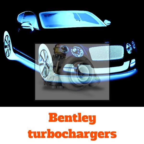 bentley turbochargers